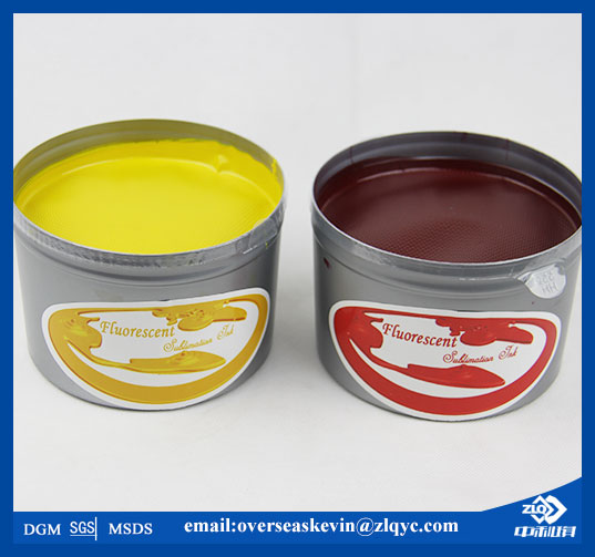 Fluorescent Sublimation Offset Transfer Ink ZHONGLIQI