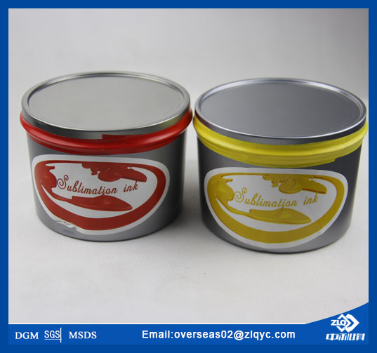 China sublimation ink for offset printing(zhongliqi)